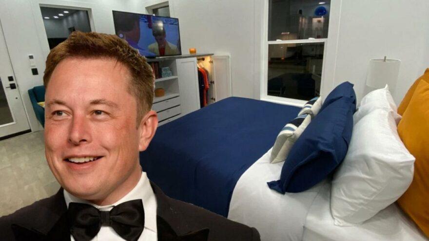 Malı mülkü satan Elon Musk'ın yeni hayatı: 38 metrekarelik prefabrik evde yaşıyor