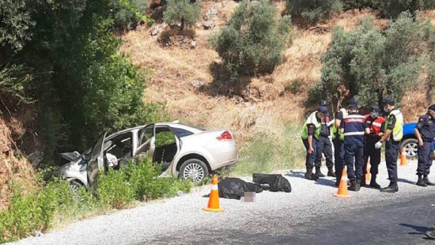 Düğün dönüşü feci kaza: 3 ölü 1 yaralı