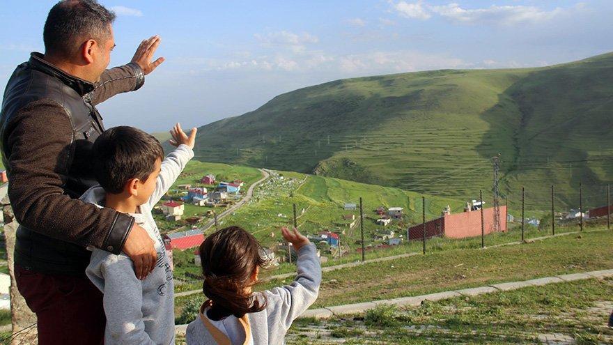 Dağın eteğinde doğa mucizesi: Atatürk silüeti görülmeye başlandı