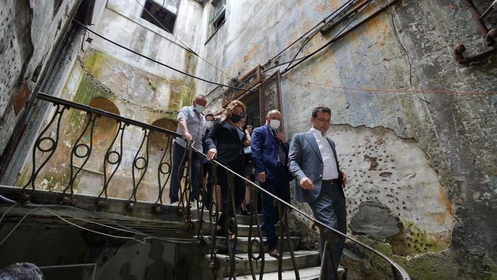 İmamoğlu talimat verdi: İBB tarihi yapıyı İstanbul'a kazandıracak