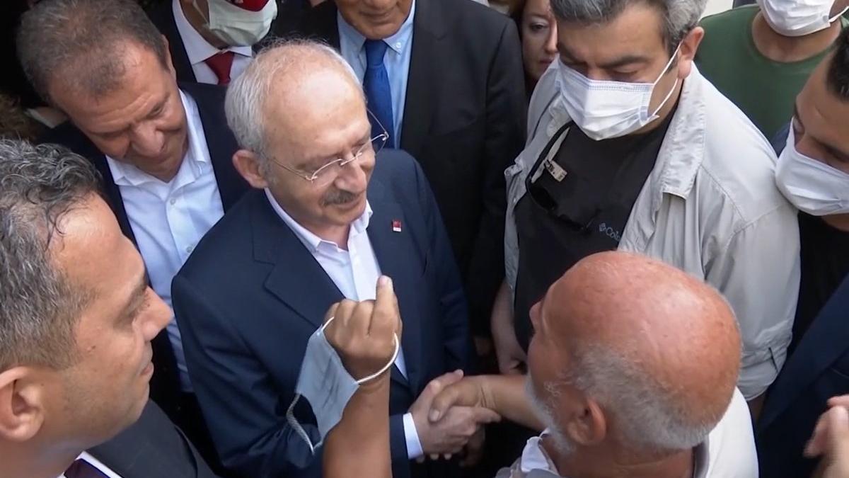 Vatandaştan Kılıçdaroğlu'na: '50 yıllık MHP'liydim, sildim hepsini!'