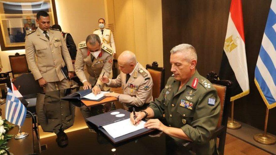 Yunanistan ve Mısır'dan iş birliği protokolü: Mısır askerini Yunanistan'da eğitecek