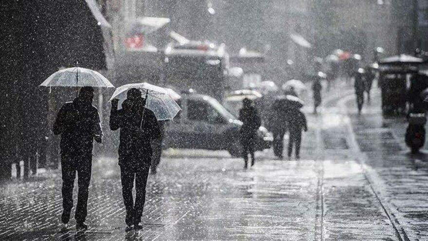 Meteoroloji'den İstanbul, Ankara ve 23 ilde sağanak uyarısı! Bu gece başlıyor