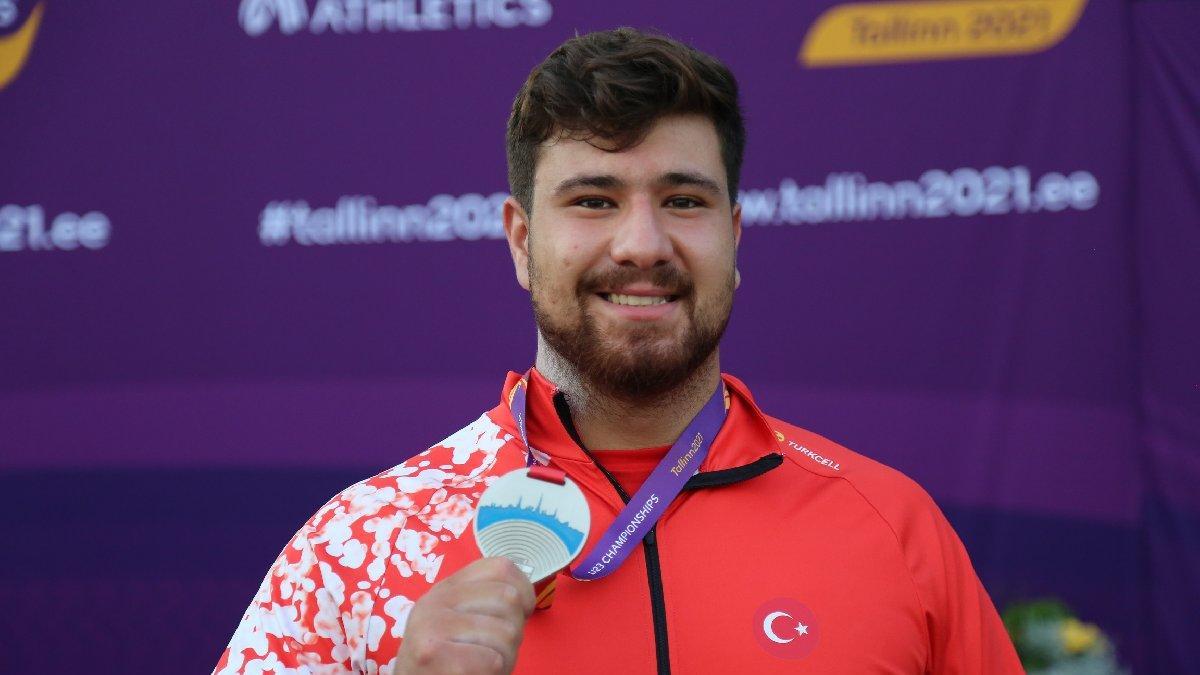 Alperen Karahan gülle atmada Türk spor tarihine geçti