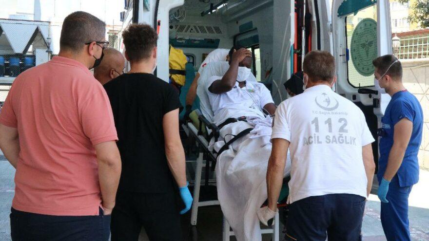 Kalp spazmı geçiren Alanyasporlu Babacar'ın son durumu! Anjiyo yapıldı…