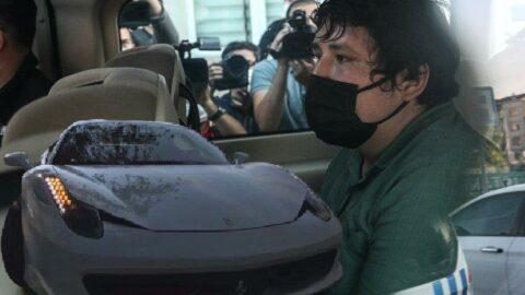 'Tosuncuk' drift yaptığı lüks aracının akıbetini anlattı...