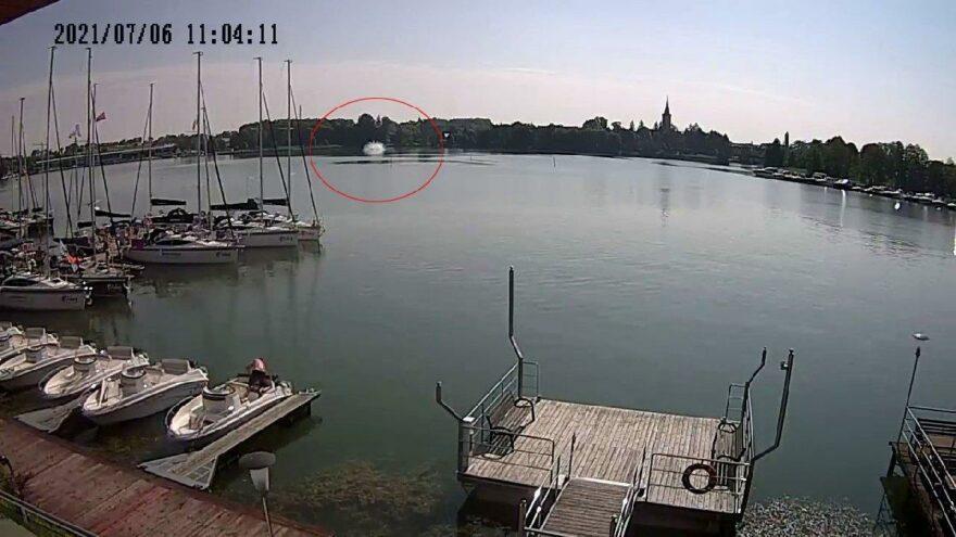 Polonya'da düşen helikopterin yeni görüntüsü çıktı
