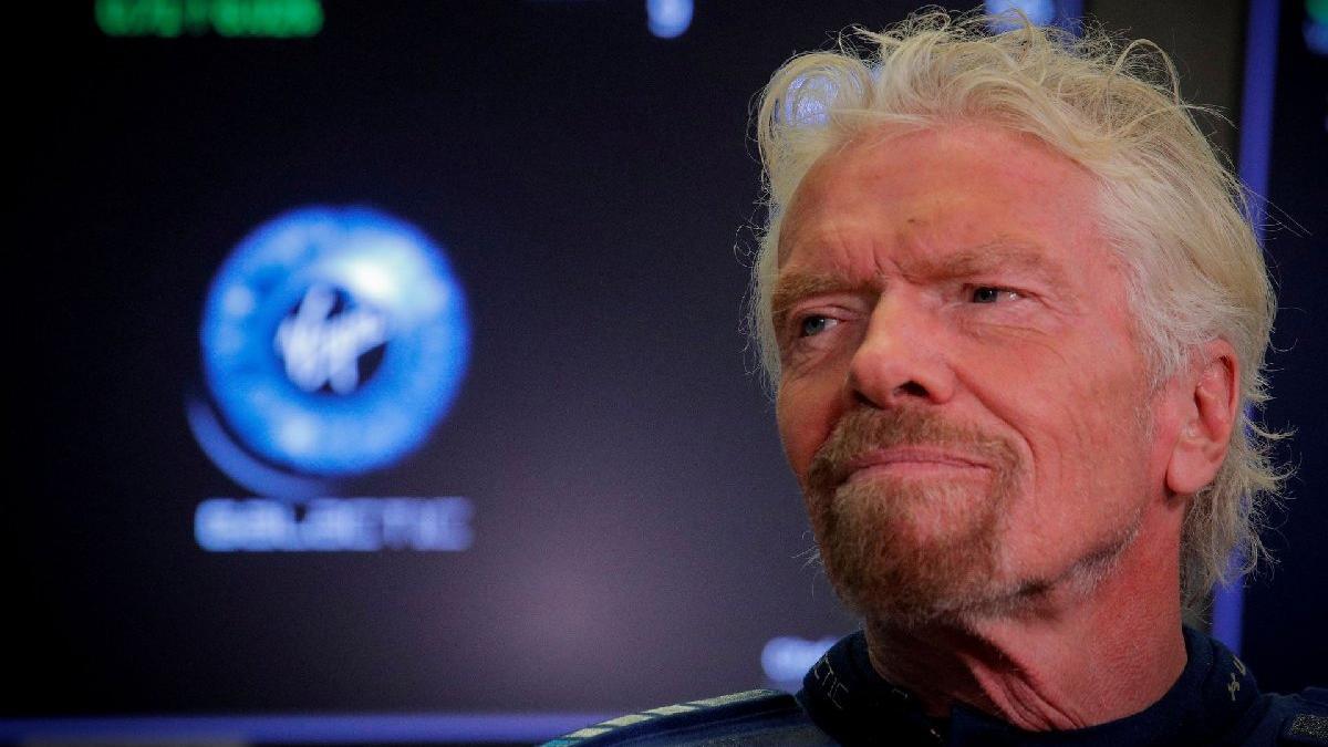 Uzay yolculuğuna günler kala Richard Branson'dan samimi itiraf: 'Biraz gerginim'