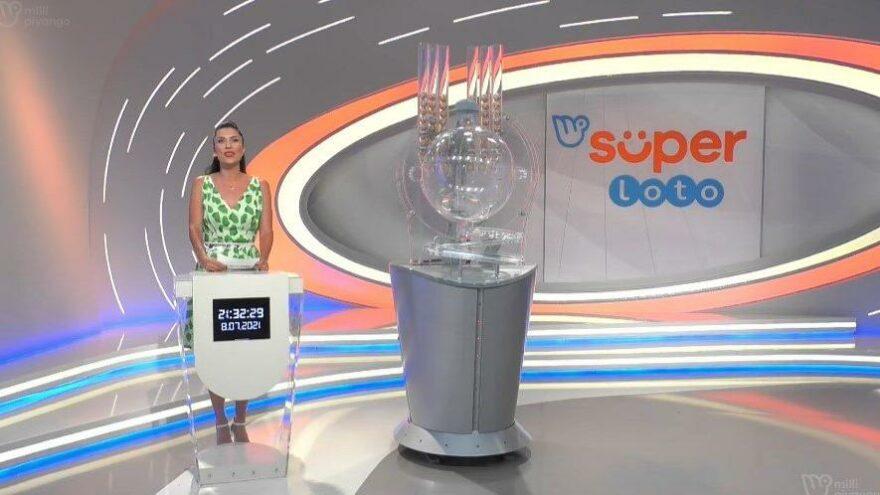 Süper Loto sonuçları, 8 Temmuz 2021'de Milli Piyango tarafından açıklandı