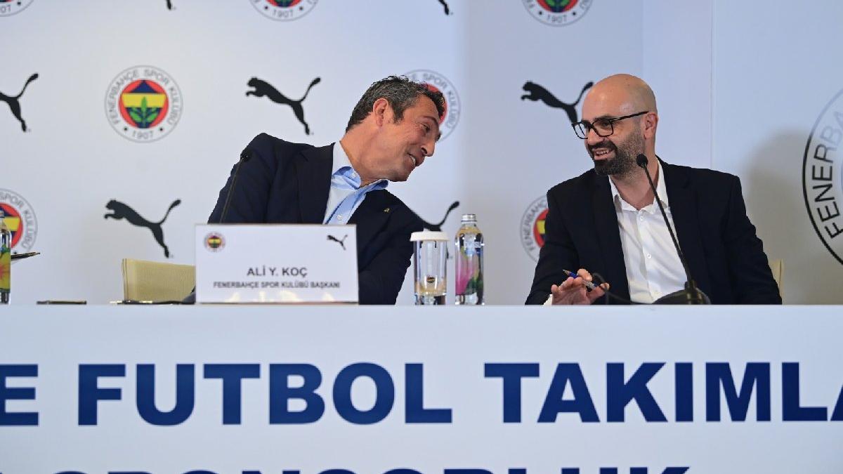 Fenerbahçe Başkanı Ali Koç'tan yeni forma sponsoru PUMA'ya sitem
