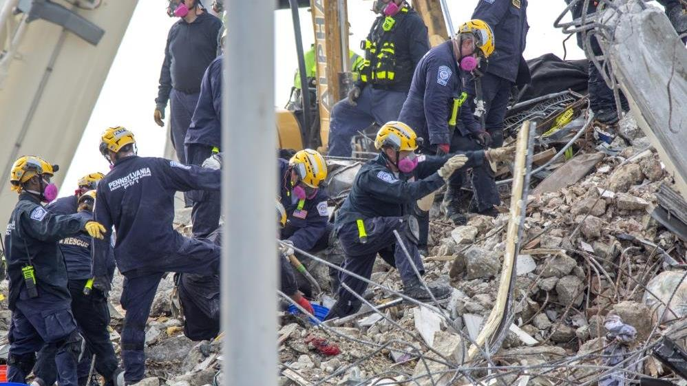 Florida'da çöken binada can kaybı 78'e yükseldi