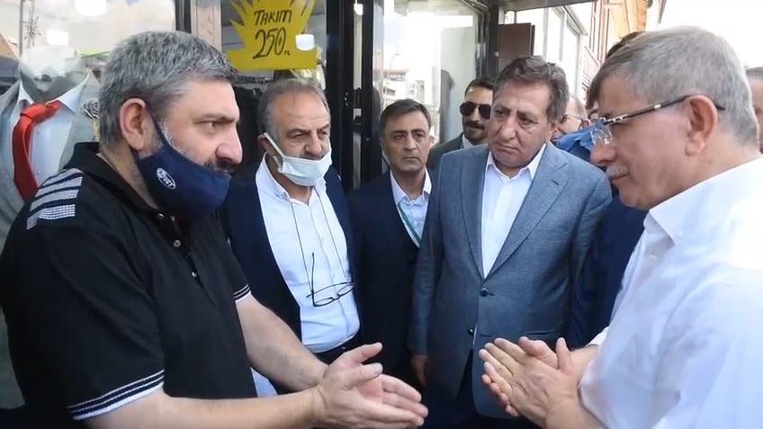Vatandaş Davutoğlu'na isyan etti: 18 sene sorgusuz sualsiz destek verdik, anamız ağladı