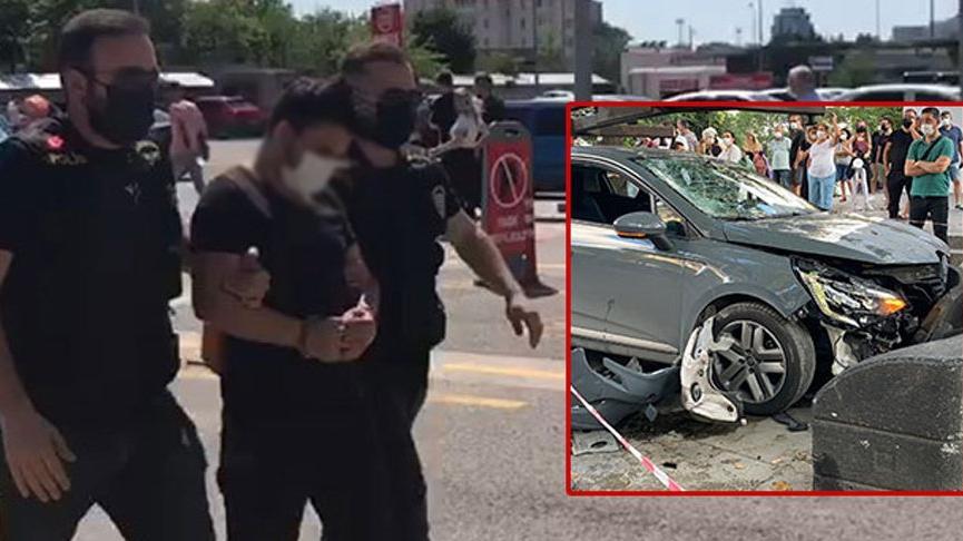 Bağdat Caddesi'nde kadına çarpan sürücü adli kontrolle serbest bırakıldı