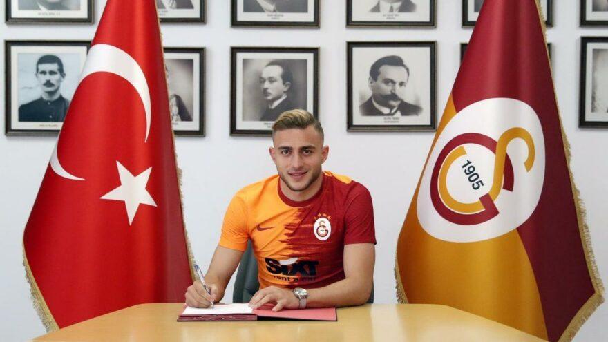 Galatasaray, Barış Alper Yılmaz'a imza attırdı