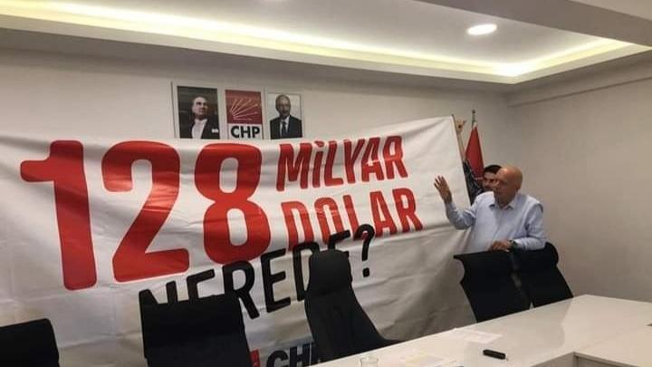 Mahkemeden '128 milyar dolar nerede?' pankartları için emsal karar