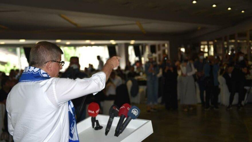 Davutoğlu Erzurum'da konuştu: SBK, Türkiye üzerinde Demokles'in kılıcı gibi kullanılacak!