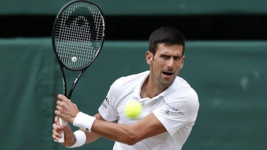 Wimbledon'da Novak Djokovic – Matteo Berrettini finali