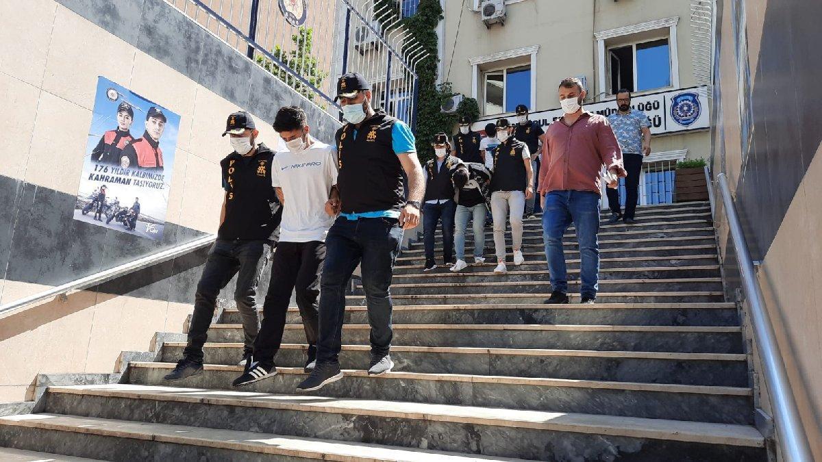 İstanbul'un 16 ilçesinde hırsızlık yapan çeteye operasyon