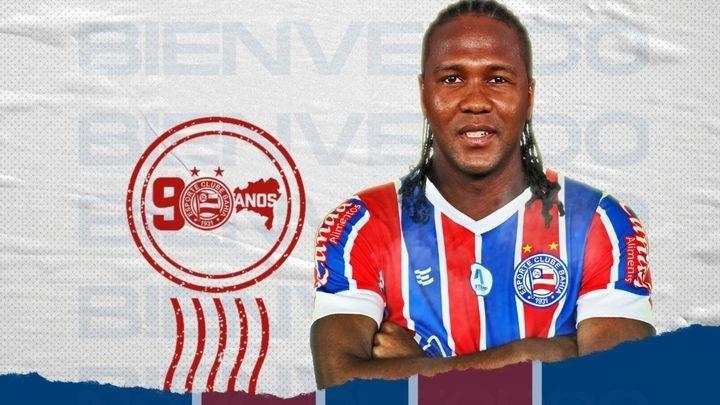 Hugo Rodollega Brezilya ekiplerinden Bahia'ya transfer oldu