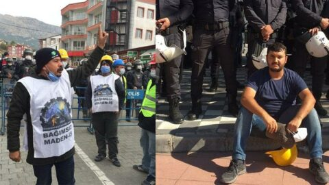 Haklarını aramak için Ankara'ya giden maden işçileri trafik kazası kurbanı