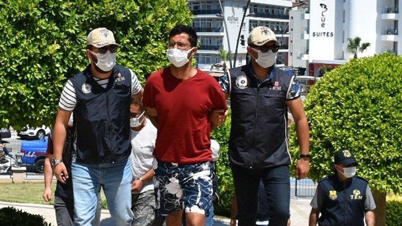 Yurt dışına kaçmak üzereyken yakalanan terör örgütü üyesi tutuklandı