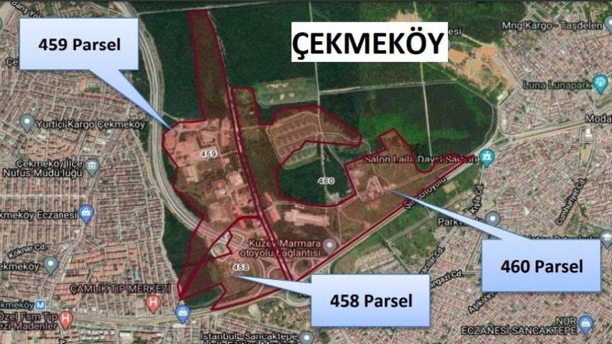 Çekmeköy'deki askeri araziye rezidans ve AVM izni