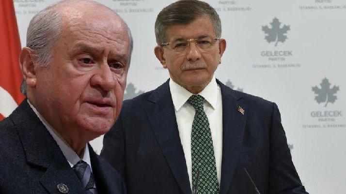 Davutoğlu'ndan Bahçeli'ye 'Serok' göndermesi