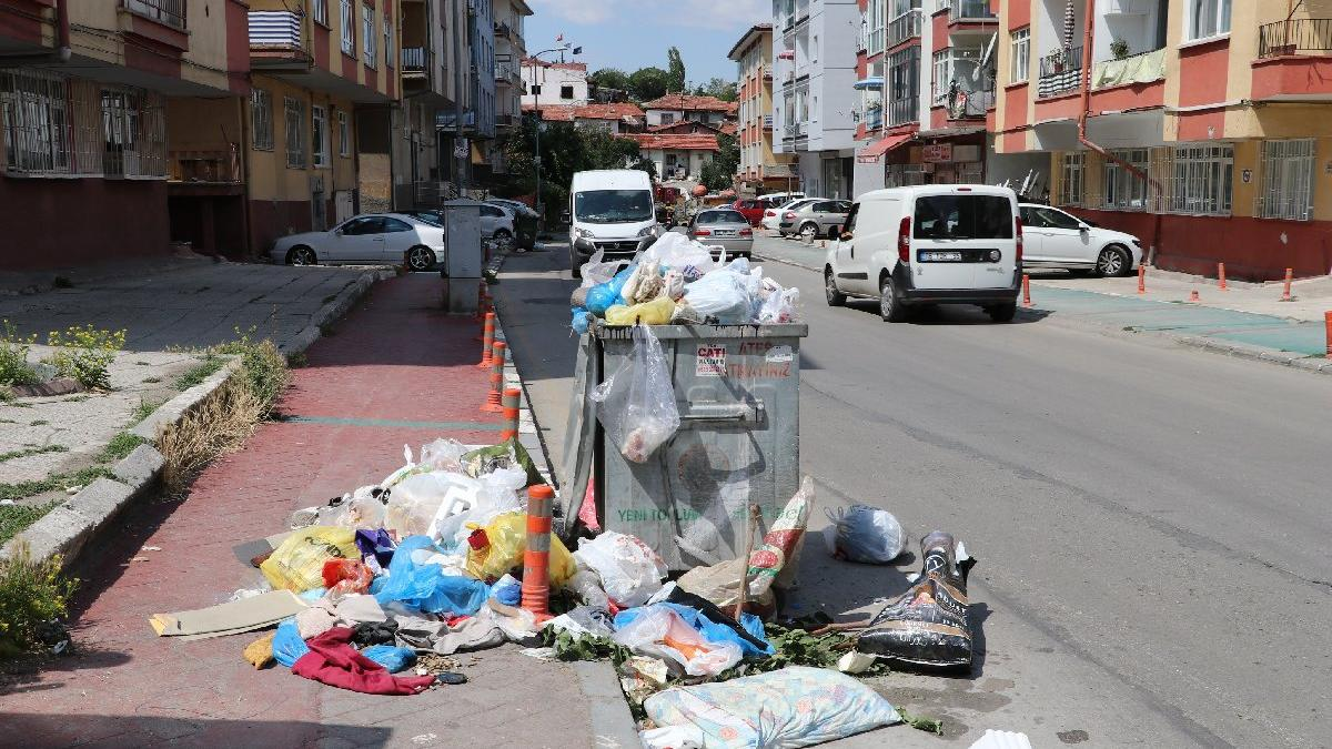 Çankaya'da çöp grevi sona erdi
