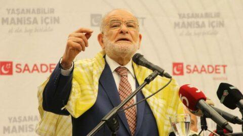 Karamollaoğlu'ndan Erdoğan'a tasarruf eleştirisi: Herkes tasarruf yapacak