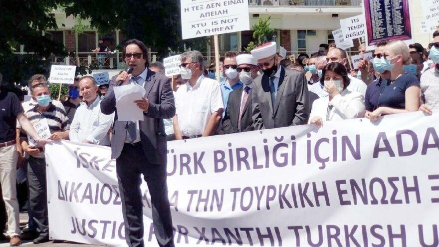 Batı Trakya'daki Türkler ayrımcılığa karşı yürüdü