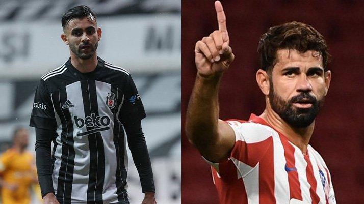 Rüya gerçeğe dönüşüyor… Diego Costa ve Ghezzal transferleri bitmek üzere