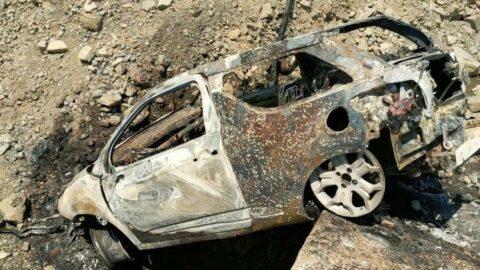 Tekirdağ'da 2 araç yandı: 2 itfaiye eri son anda kurtuldu
