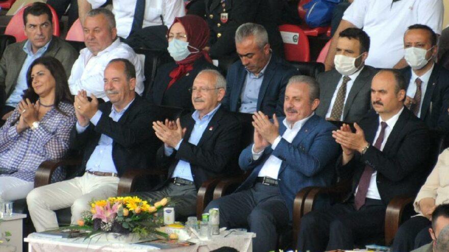 Şentop ve Kılıçdaroğlu, Er Meydanı'nda