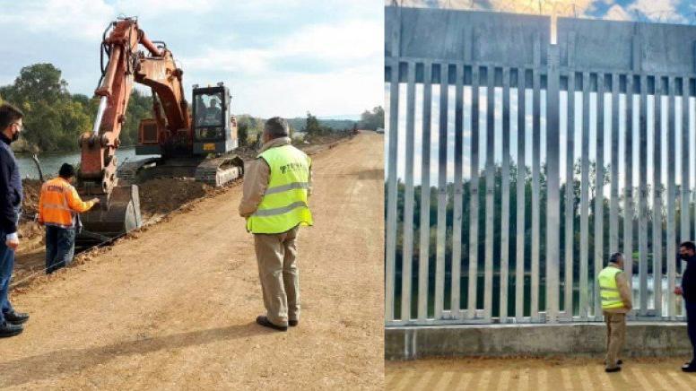 Yunanistan, Meriç Nehri bölgesindeki çelik çiti uzatma kararı aldı