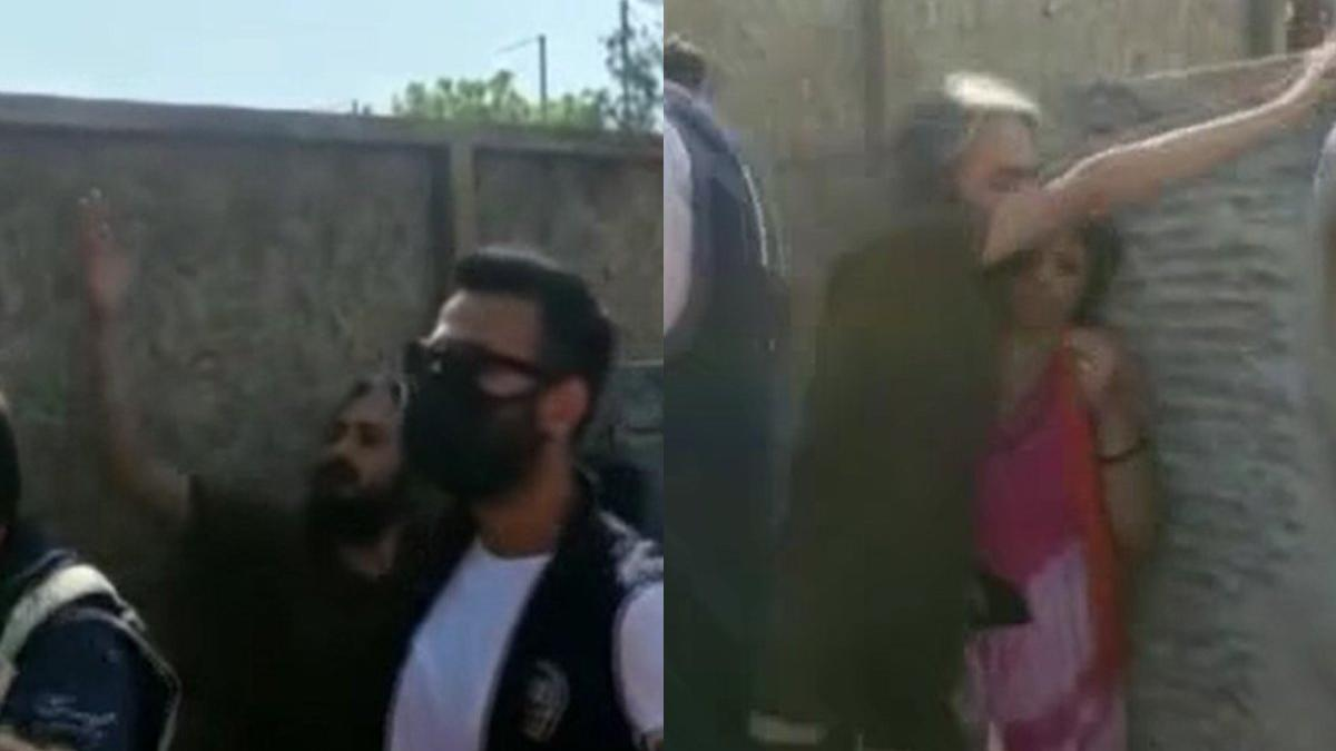 Türk bayrağını yırtan İranlı kadın gözaltına alındı