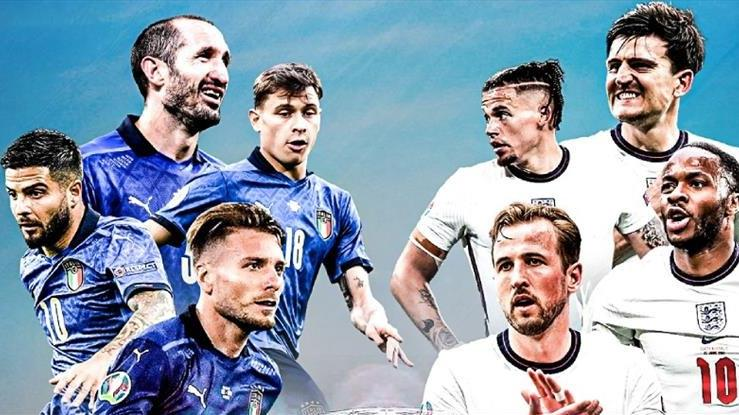Wembley'de tarihi final! İtalya ve İngiltere… EURO 2020'de kupa sahibini buluyor