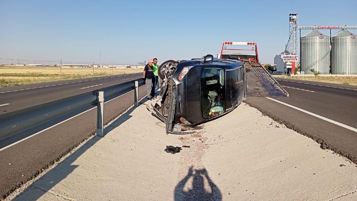 Kazadan kaçarken kaza yaptı: 2'si çocuk 6 yaralı