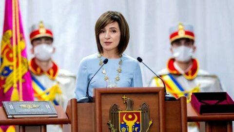 Moldova'da seçimi Sandu'nun partisi önde götürüyor