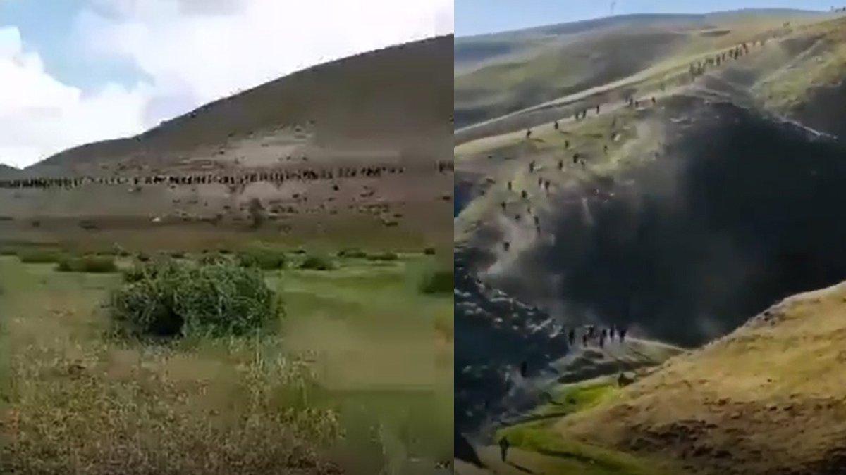 Taliban korkusuyla kaçıyorlar!