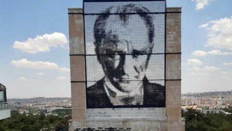 Sözcü, birinci sayfadan duyurmuştu: Atatürk Anıtı 111 gün sonra yerinde