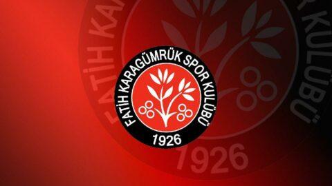 Fatih Karagümrük'ten şok Kulüpler Birliği kararı!