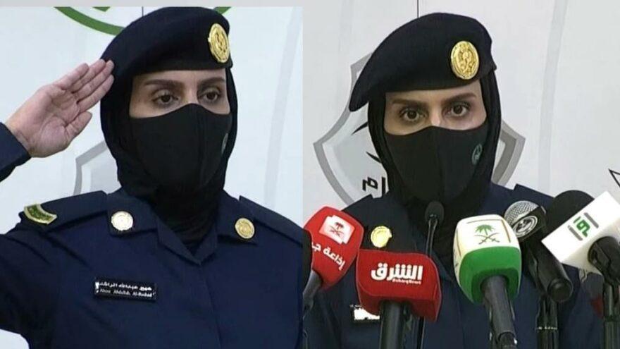 Suudi Arabistan'da bir ilk! İlk kez kadın asker…