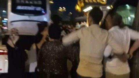 İstanbul'da düğün karıştı: Halay sırasında taciz...