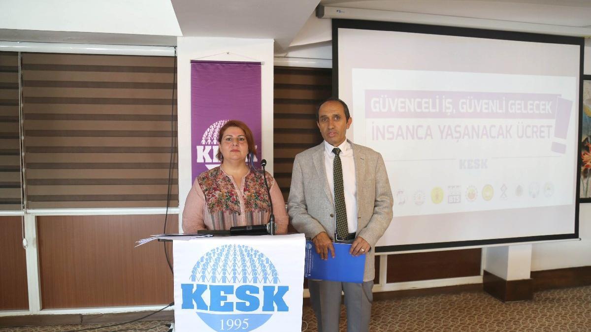 KESK toplu sözleşme teklifini açıkladı