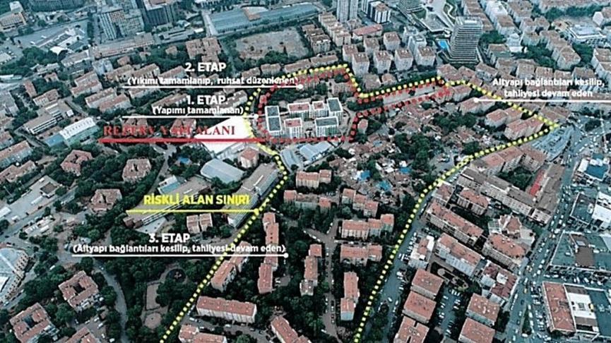 Güngören kentsel dönüşüm projesinde yeni gelişme: Danıştay 'riskli alan' kararını iptal etti, bakanlık 'yeni konut alanı' kararı aldı