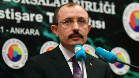 Bakan Muş: Cari açık sorununu Türkiye gündeminden çıkaracağız