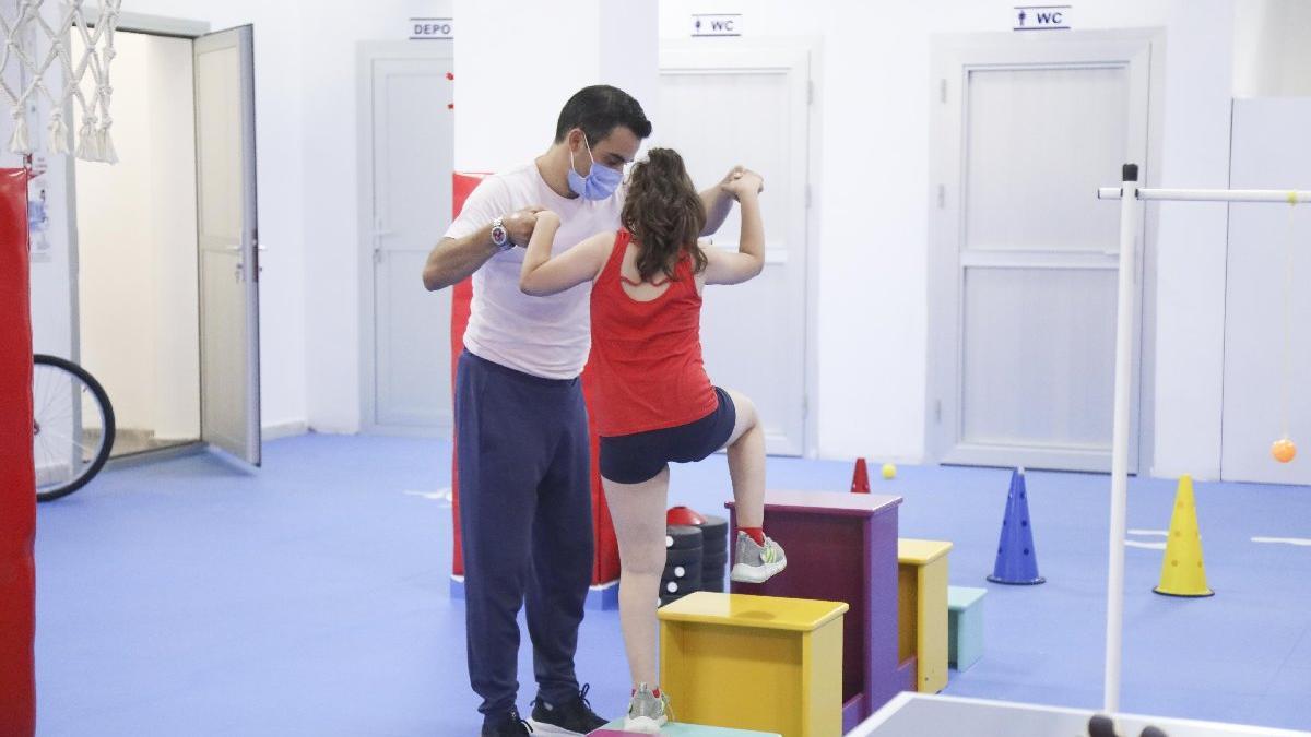 Aydın'da otizmli çocuklara spor salonu: Lisanslı sporcular yetiştirilecek