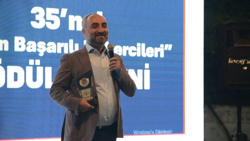 İsmail Saymaz'a 'Yılın Başarılı Habercisi' ödülü