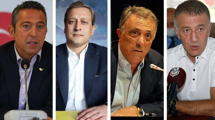 4 büyük kulüp başkanından tarihi buluşma! TFF, yayıncı kuruluş, yabancı sayısı