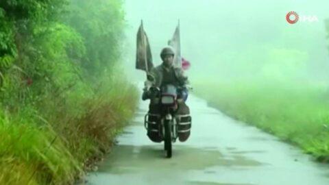 500 bin kilometreden fazla yol yaptı, oğluna 24 yıl sonra kavuştu